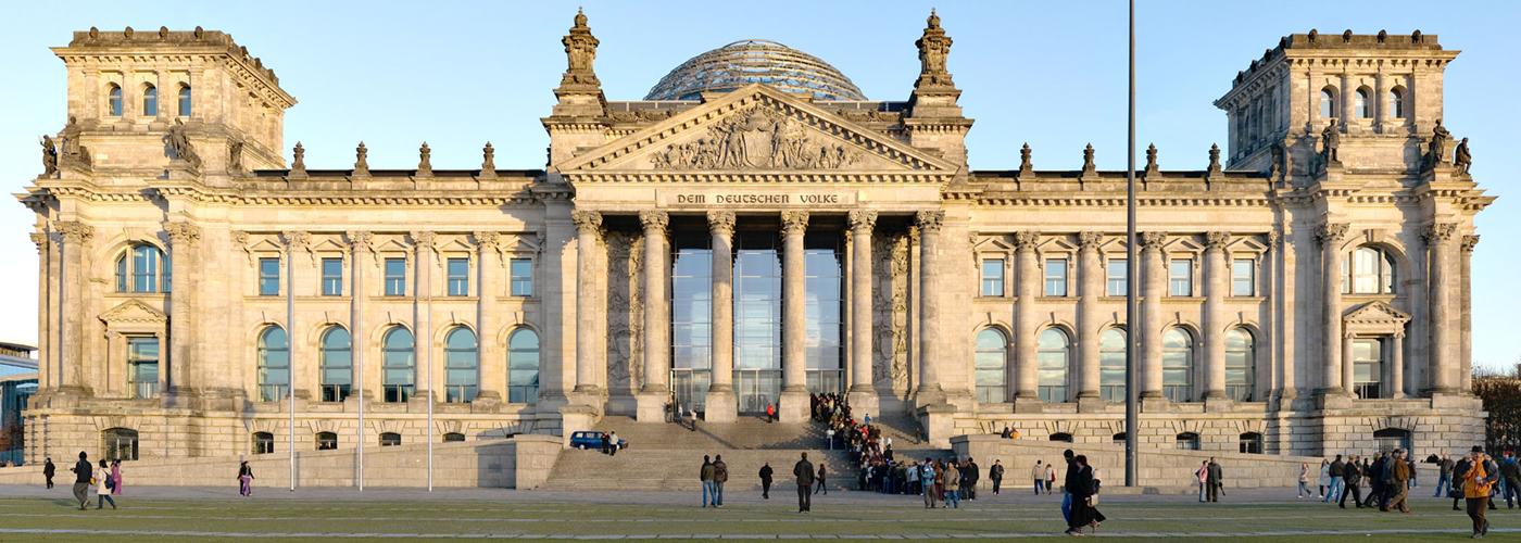 Parlamentsgebäude Reichstag