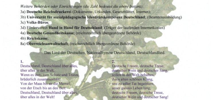 Neujahrsbotschaft 2019-2020 des Deutschen Parlaments